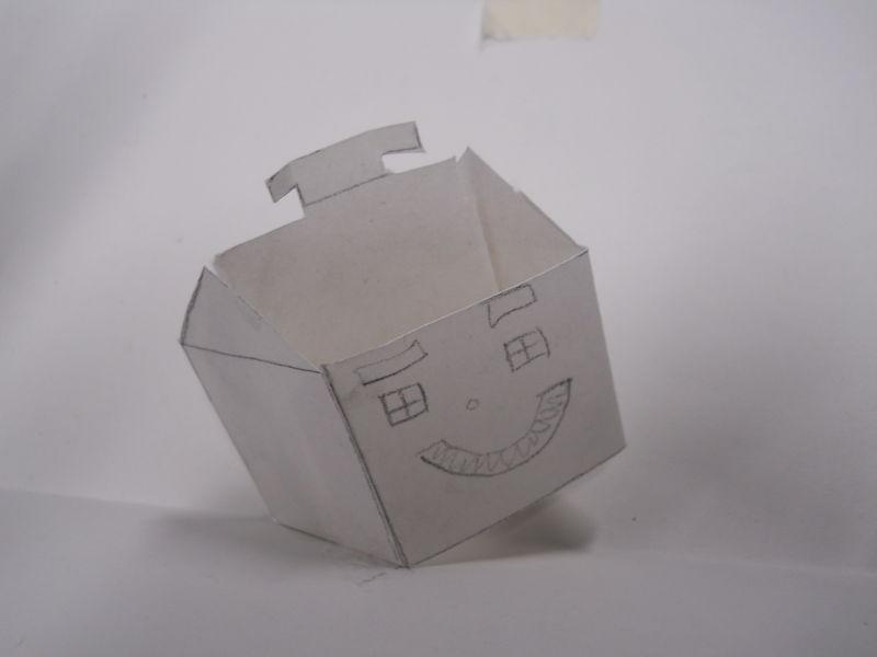Pop-up happy house