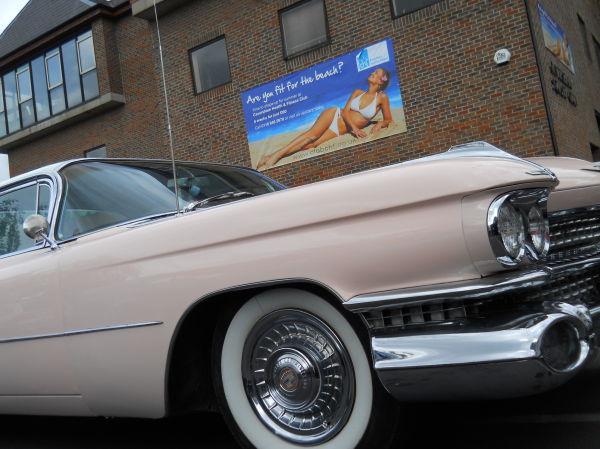 Pink Cadillac, Waitrose, Caversham