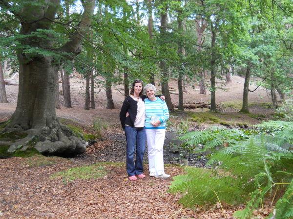 Mum and me.
