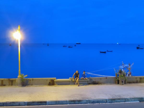 Blue hour in Prachuap