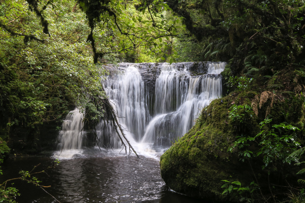 Waterfall, river