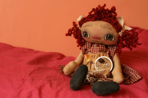 my old raggedy doll