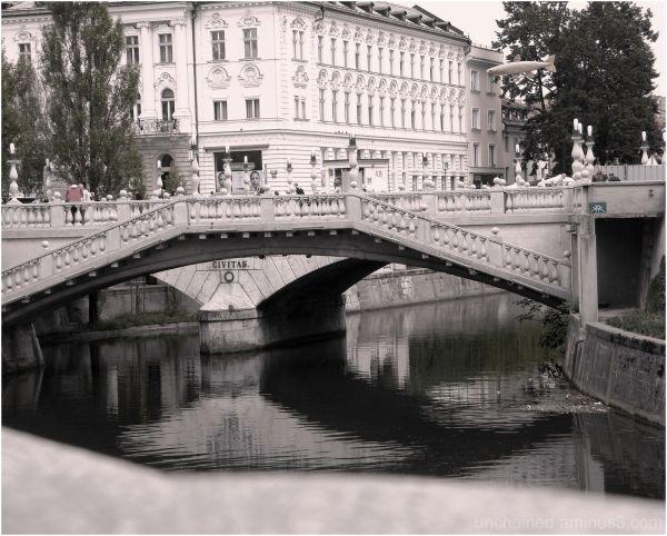 quiet little Ljubljana
