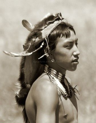 Young Native American boy