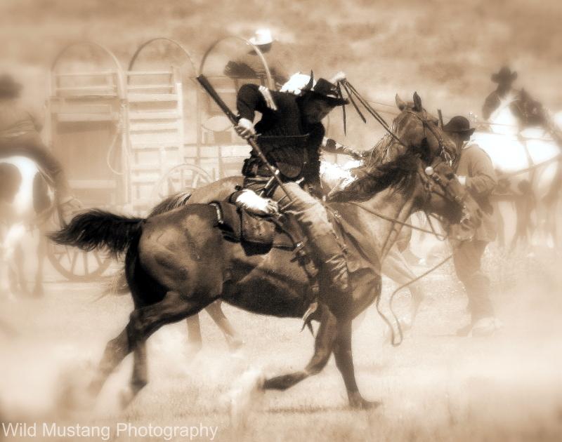man  horse
