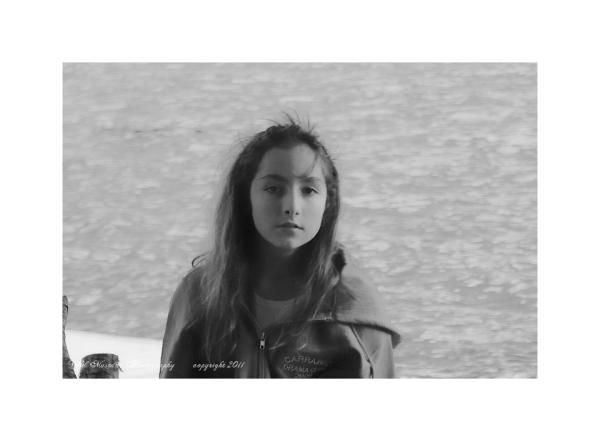 Girl  water