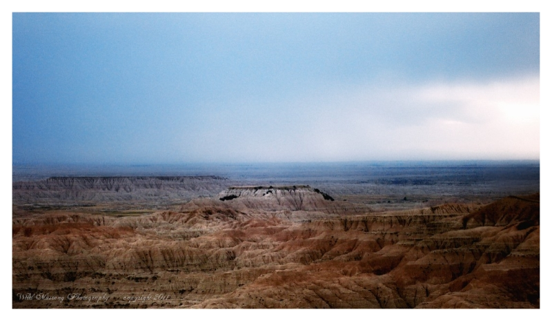 Badlands,Rock, Clouds, Sunset, Landscape