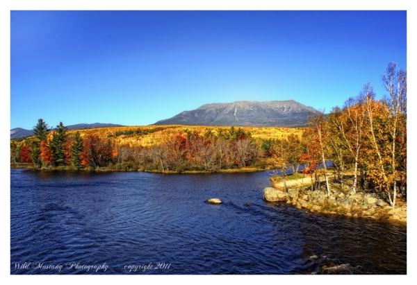 Mountains, Lake, Landscape