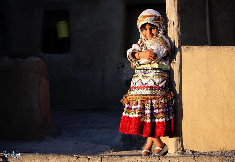 دخترك روستايي