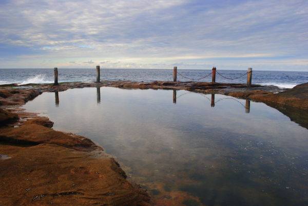 coogee beach coastal rock pool