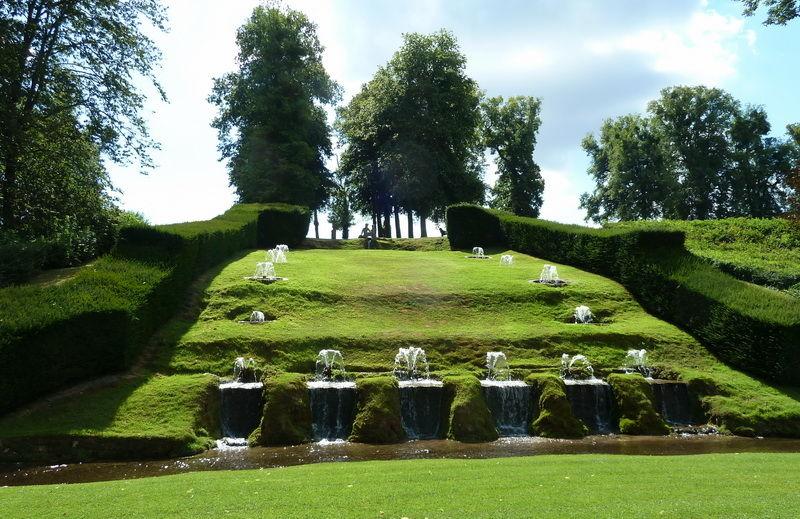 Château d'Annevoie.Les Jardins  4