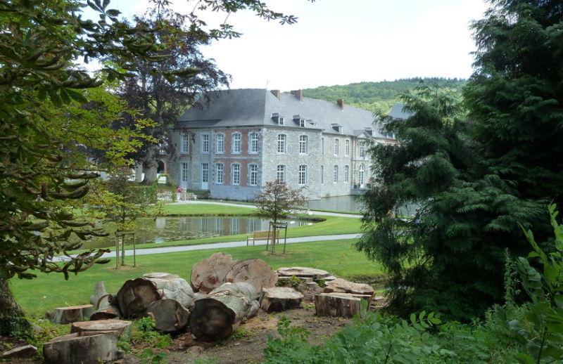 Château d'Annevoie. Fin