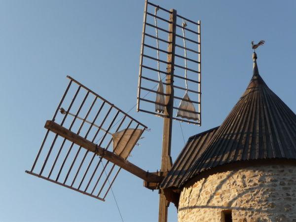 Le moulin de Cucugnan.