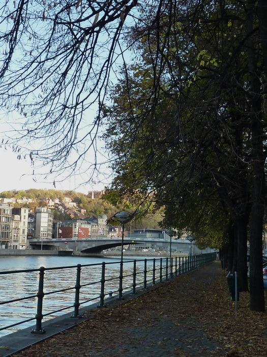 Le long de la Meuse à Liège