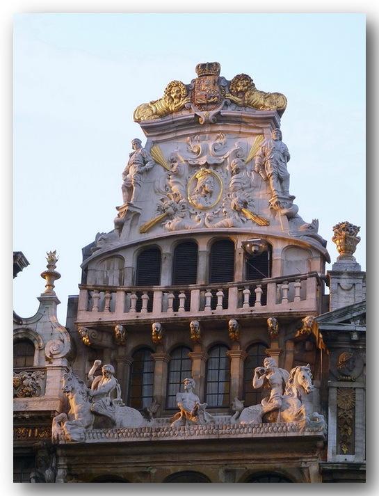Crépuscule sur la Grand-Place
