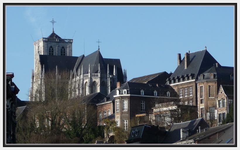 Liège. Le Mont Saint Martin.