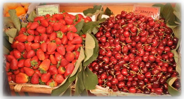 Les cerises et les fraises d'Inès