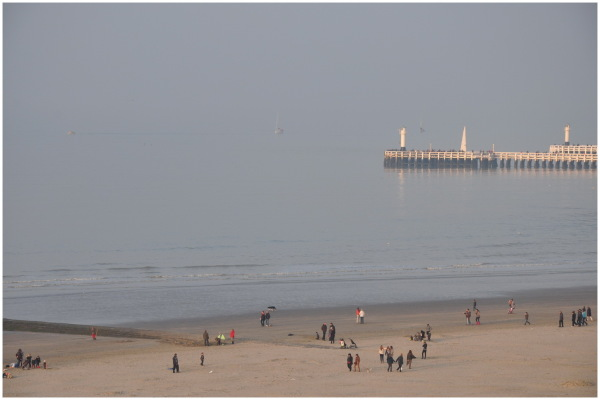 Petite brume sur la plage