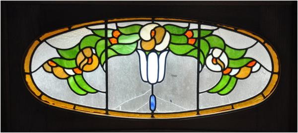 Vitraux Art Nouveau. 3