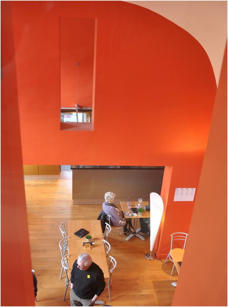 La Cafétaria de l'abbaye -musée de Stavelot. (B)
