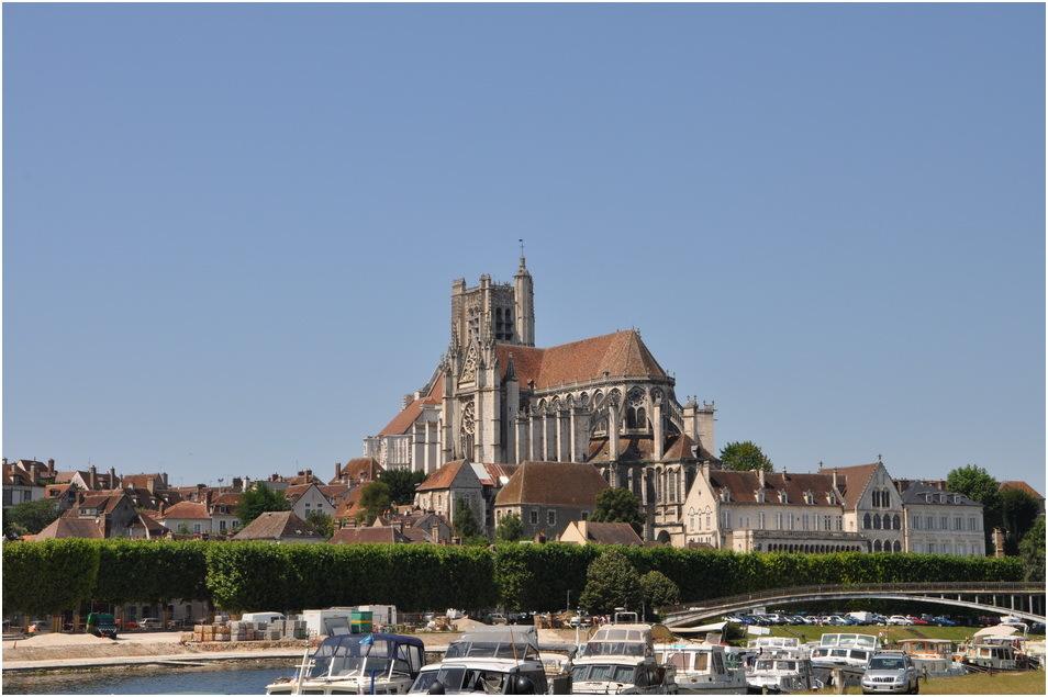 Auxerre, la cathédrale St Etienne