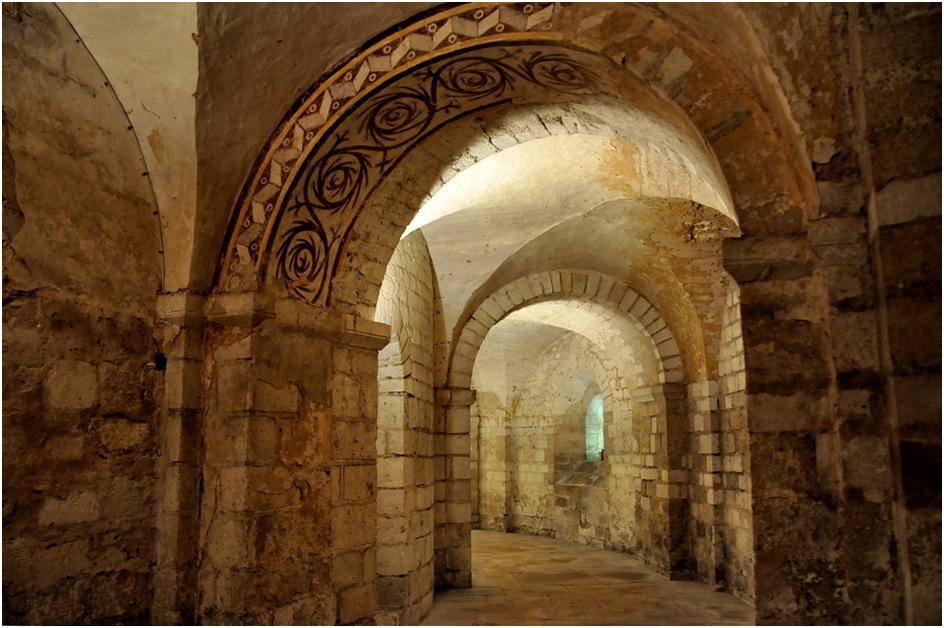 St Etienne. La crypte