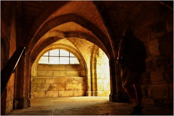 Auxerre fin.Sortie de la crypte