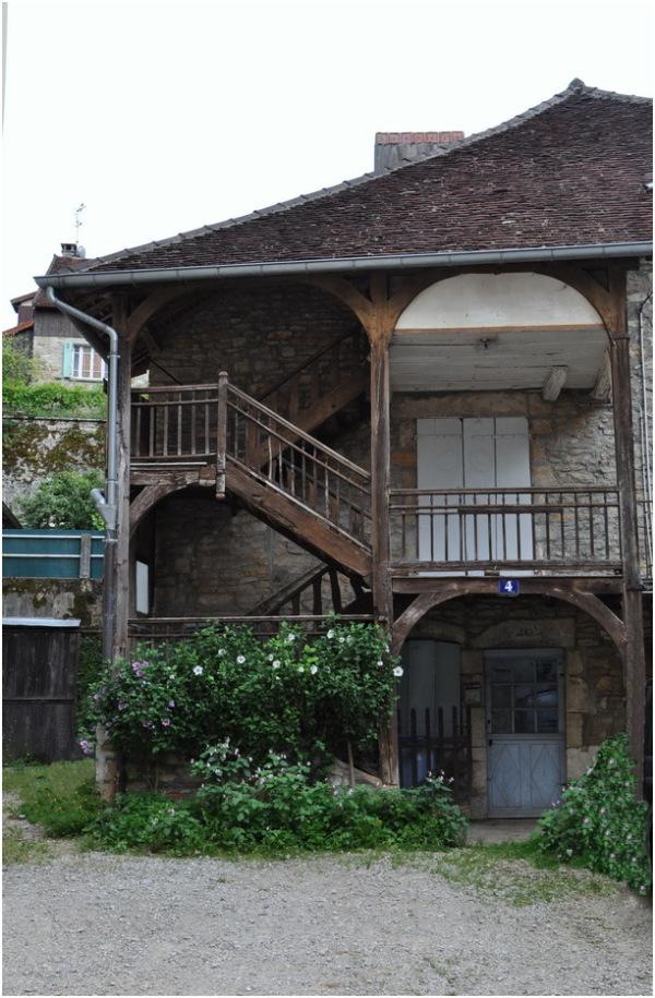 Sellières. Une ancienne maison comtoise.
