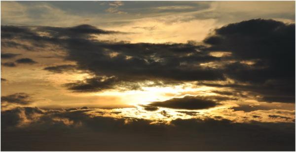 Le soleil se couche, il fait froid, on rentre!