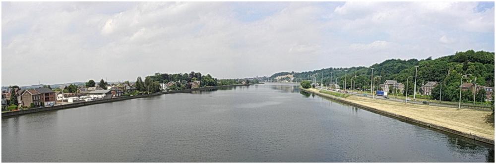 La Meuse  à Argenteau (Belgique, Visé)