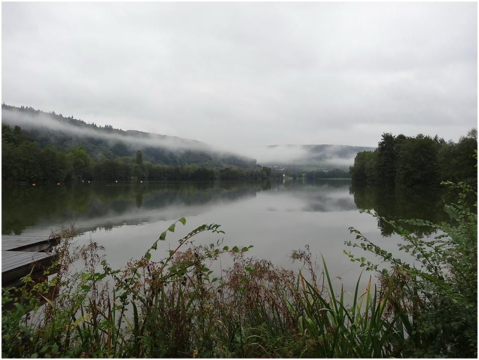 Le tour du lac au petit matin.