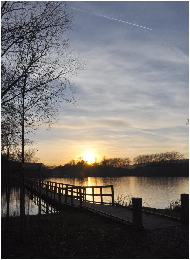Fin de journée sur la Meuse