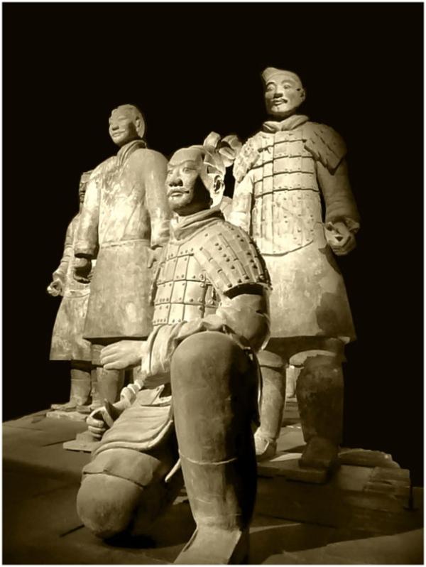 L'armée du terre cuite de l'empereur  Qin Shi