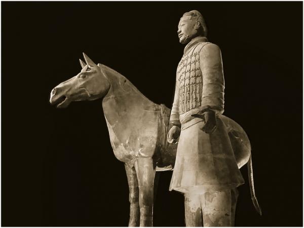 Armée de terre cuite  de Qin Shi. 2