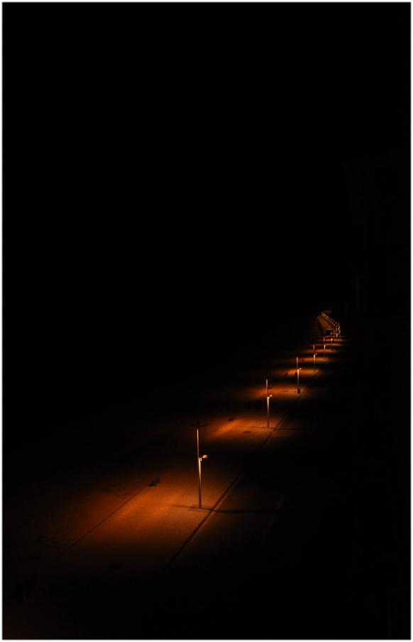 Chemin de lumière.