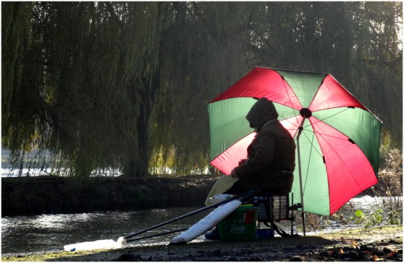 Le pêcheur au bord de l