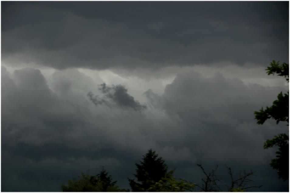 L'orage se prépare.