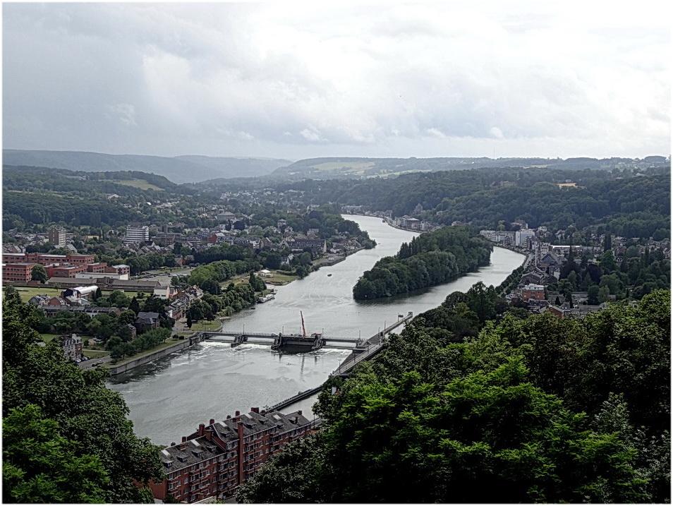 La Meuse à Namur.