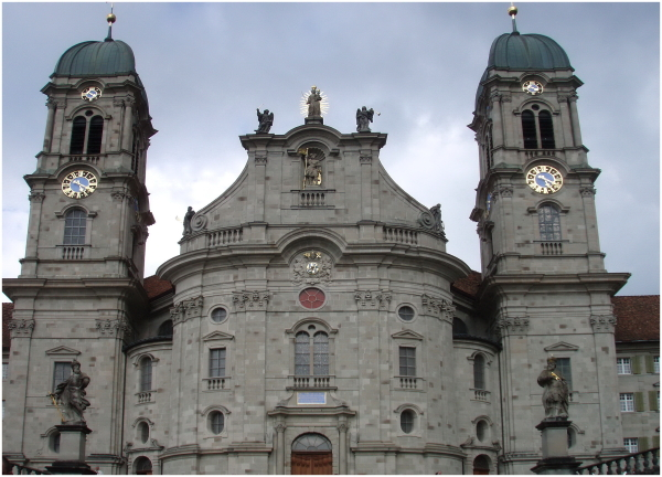 Einsiedeln, la cathédrale.