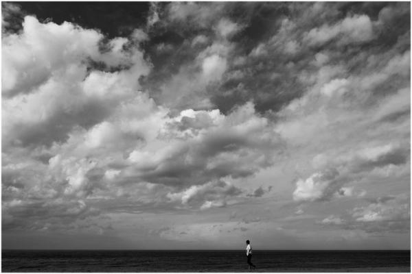 Le promeneur solitaire.