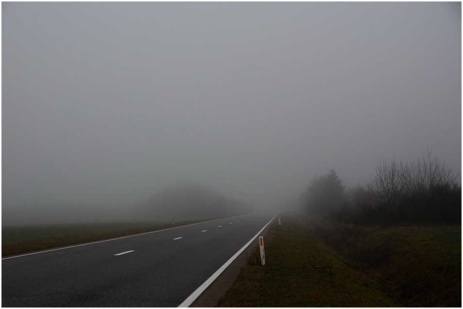 Ce matin sur la route.
