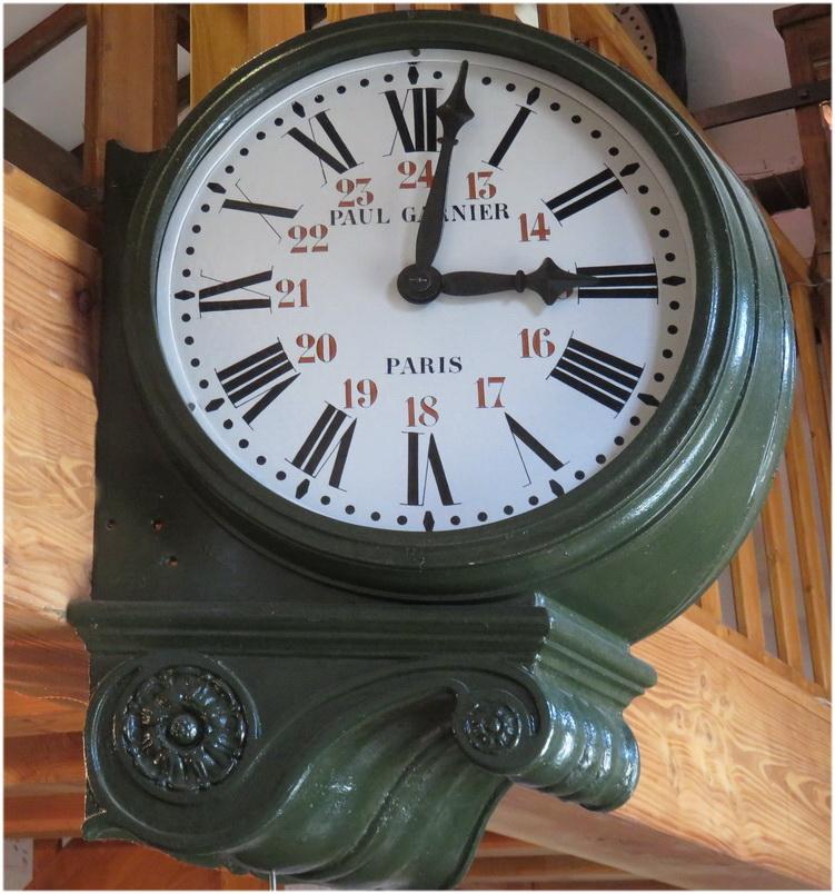 Départ du train pour Paris à 15 h 08
