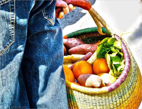 farmer's market feast