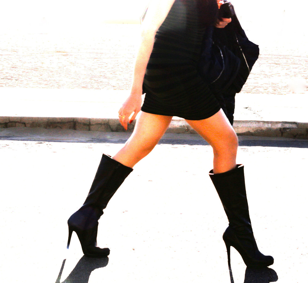 Boots a walkin'