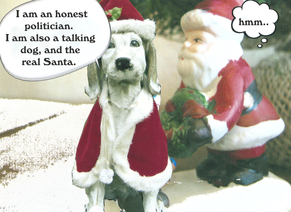 the talking dog has something to say