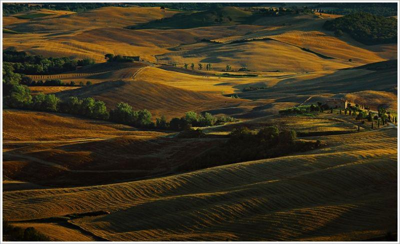 Pienza, Tuscan evening
