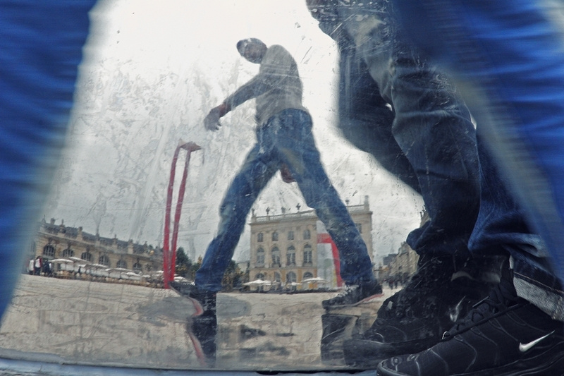 nancy place people réflexion reflection