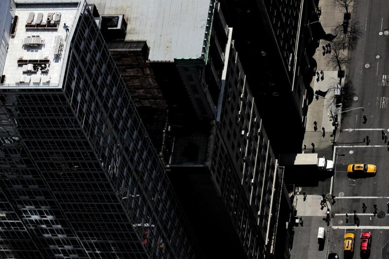 Terrasse avec vue   NYC 3/8