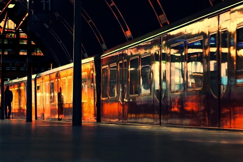 sunset Ostbahnhof berlin