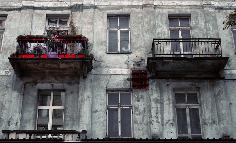 warsaw ghetto varsovie balcon balcony